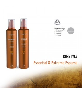 KINSTYLE Essential & Extreme Mousse