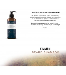 Kinmen Beard Shampoo 250 ml