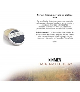 Kinmen Hair Matte Clay 100 ml