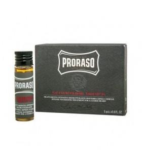 Aceite caliente para barba caja 4 und x17 ml