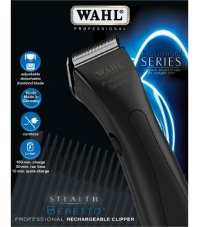WAHL MÁQUINA BERETTO BLACK STEALTH PROLITHIUM