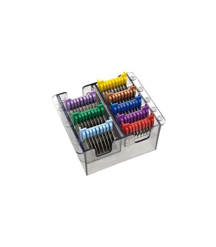 WAHL, MOSER y Ermila Peines Recalce Universales Metal Colores Pack