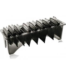 Wahl PREMIUM Pack de 8 peines con anclaje metálico + Organizador