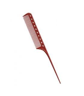 Artero Peine Pua Plastico Rojo YS Park 101 (216)