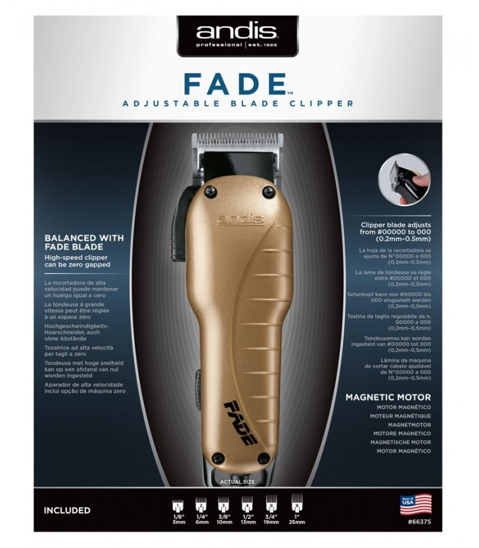 ANDIS FADE Clipper hoja ajustable