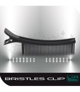 LIM HAIR BRISTLES CLIP: Un único clip, secciona gran parte del cabello.